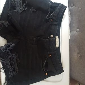 Cut off moto Ashley shorts